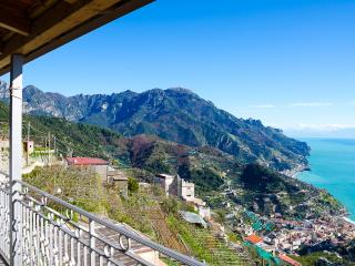 Apartment Rossa vacation holiday apartment rental italy, amalfi coast, ravello, view, short term long term apartment to rent to let rave, Ravello