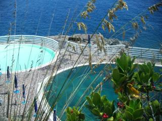 bilocale ISOLA D' ELBA sul mare con giardino e piscina SCONTO TRAGHETTO, Porto Azzurro