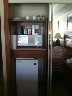 Guest Suite Fridge and Pantry