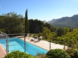 La Cadiere d'Azur Var, Superb villa 9p, Private pool, 3ml from the beaches