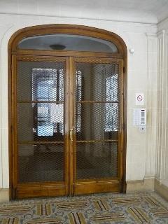 Door in the hall