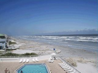 Panoramic Oceanfront, End Unit 2bd/2BA, New Smyrna Beach
