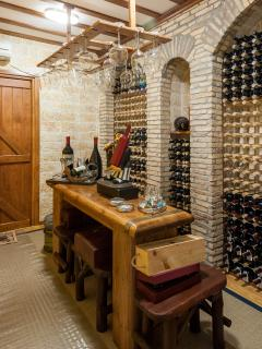 Wine Cellar with house wine production