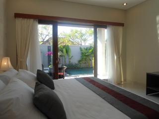 New 2 bed pvt pool walk to shops & beach sleeps 5, Sanur
