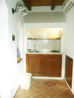 kitchenette of the tworoom suites