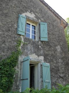 French windows leading to the terrace