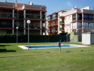 Piso con piscina y gran terraza.5 min. de la playa, Chipiona