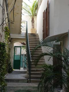 It is a colonial house in Neve Tzedek