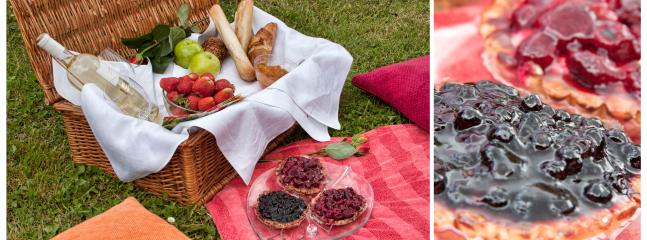 Picnics are great for couples. You can enjoy the privacy and tranquility of the green surroundings