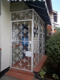 Secure front entrance