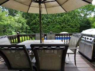 Hampton Bays nice  4bed,2ba,CAC,WiFi,IGPool large deck,Billiard,Tennis...