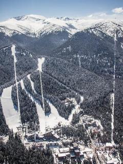 Borovets from the sky