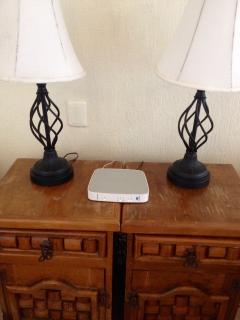 In room wifi that reaches to the beach in front of your room