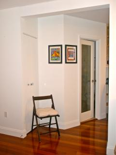 Spacious Unit. Extra Chairs. Beautiful Cherry Wood Floors. All Newly Renovated.