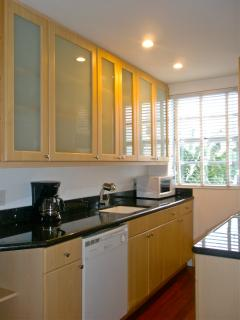 Modern, Full-Brand NEW Equipped Kitchen Separated From Living-Sleeping Area.