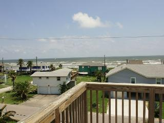 Spacious home has great views of the beach from either of the large decks!, Galveston