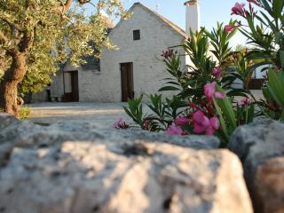 Trullo Olimpo con giardino e piscina privati.