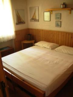 camera con letto matrimoniale oppure 2 singoli
