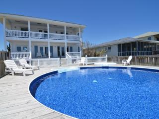 Vitamin Sea...Oceanfront House with Pool, Kure Beach