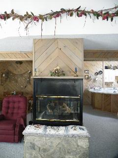 See fireplace from every angle