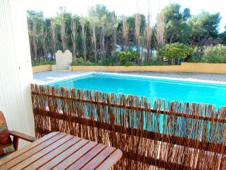Apartamento en la playa con piscina, Tossa de Mar