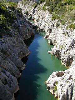 les gorges de l' Hérault 45 mn