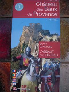 Les Baux de Provence 1h15