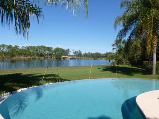 Villa swimmingpool on lake, golf  near orlando