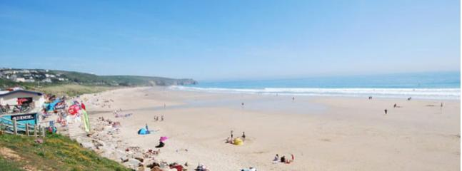 Praa Sands - Low Tide in August