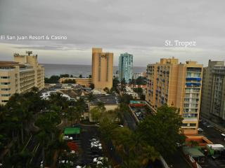 Studio St. Tropez in between Resorts and Casinos  Isla Verde-Carolina. PR  00979