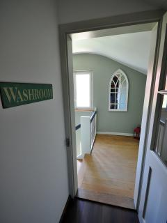 Hallway to Stairwell.   Top Floor