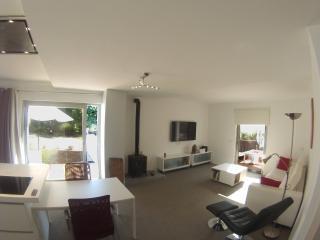 Apartamento de diseño en planta baja a 3min. playa, Portinatx