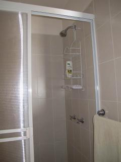 Shower cubicle of the upper apartment
