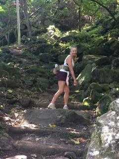 Kalaupapa trail in Molokai super fun and beautiful!  Book online and hike the trail.