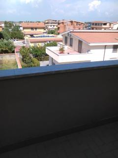 panoramica dal balcone