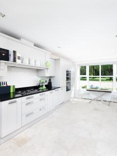 A kitchen designed and equipped for those who love to cook