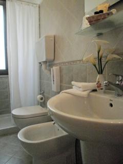 Particolare del bagno