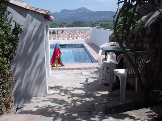 restored village house with wonderful views, small, Jimena de la Frontera