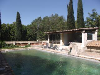 villa romaine dans domaine du 17eme, Beaucaire