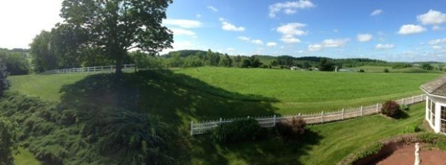 Balcony View - your location overlooks Amish farms