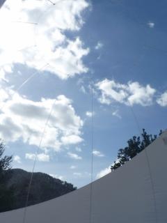 Le Dôme ouvert à 360 c° sur la nature et le ciel