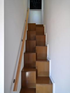STAIRS TO 2 ROOMS