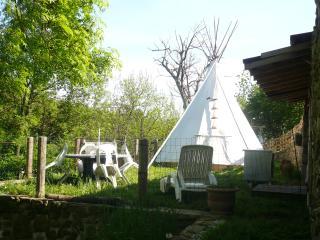 Tipi et gîte en Ardèche, Fabras