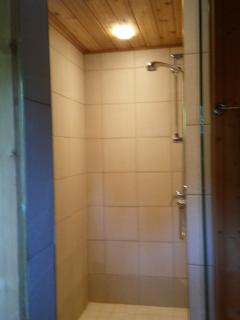 Walk in shower in ensuite to the Master Bedroom