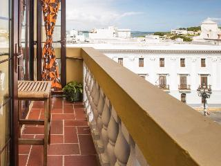 Old San Juan Vintage Apt. on Main Plaza: 4-NT MIN