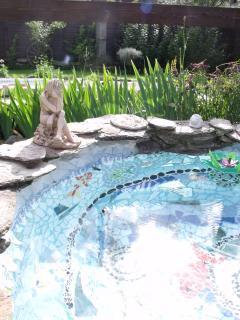 Gite Au Puy duBonheur vue sur le sancy,piscine,spa