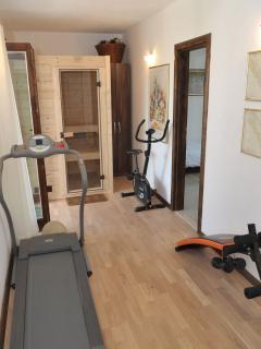 gym, sauna