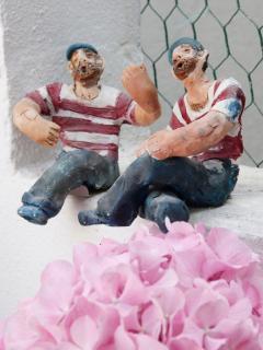 Dubrovnik's sea men in clay