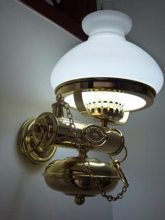 lampada in stile marina