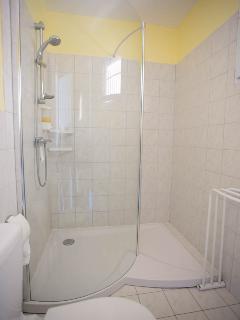 Gauguin bedroom en suite walk-in shower